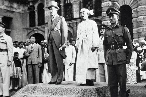 Burmese Independence Ceremony